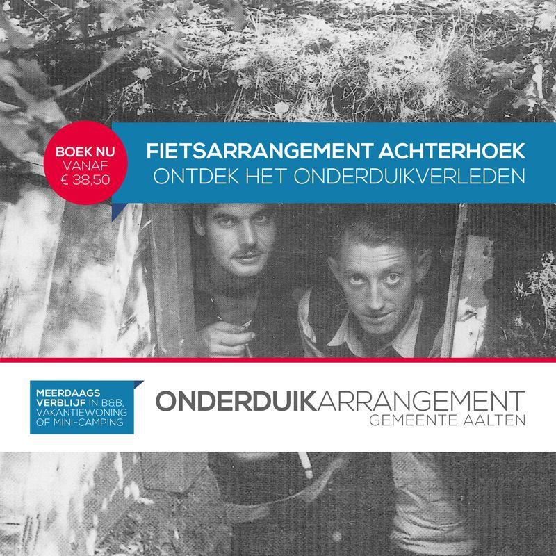 Toeristische ondernemers gemeente Aalten slaan handen ineen voor Onderduikarrangement