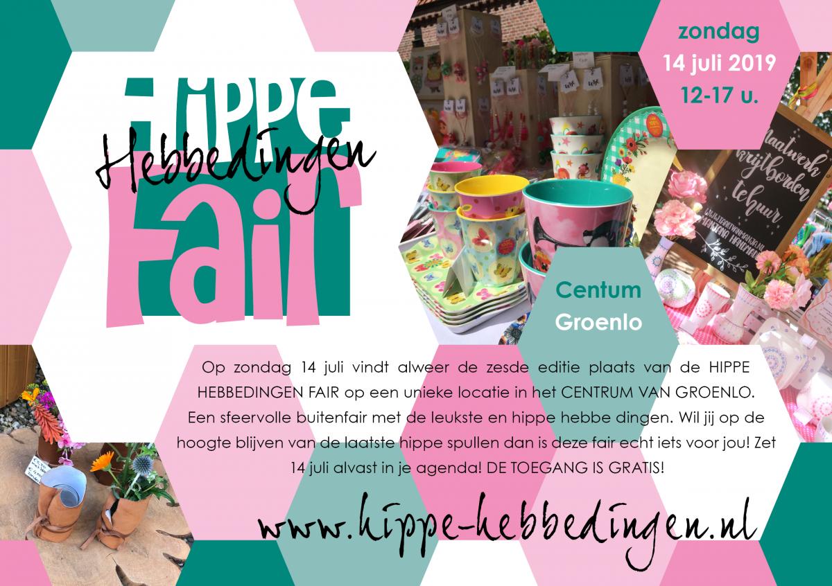 Hippe Hebbedingen Fair; het lifestyle event van de regio