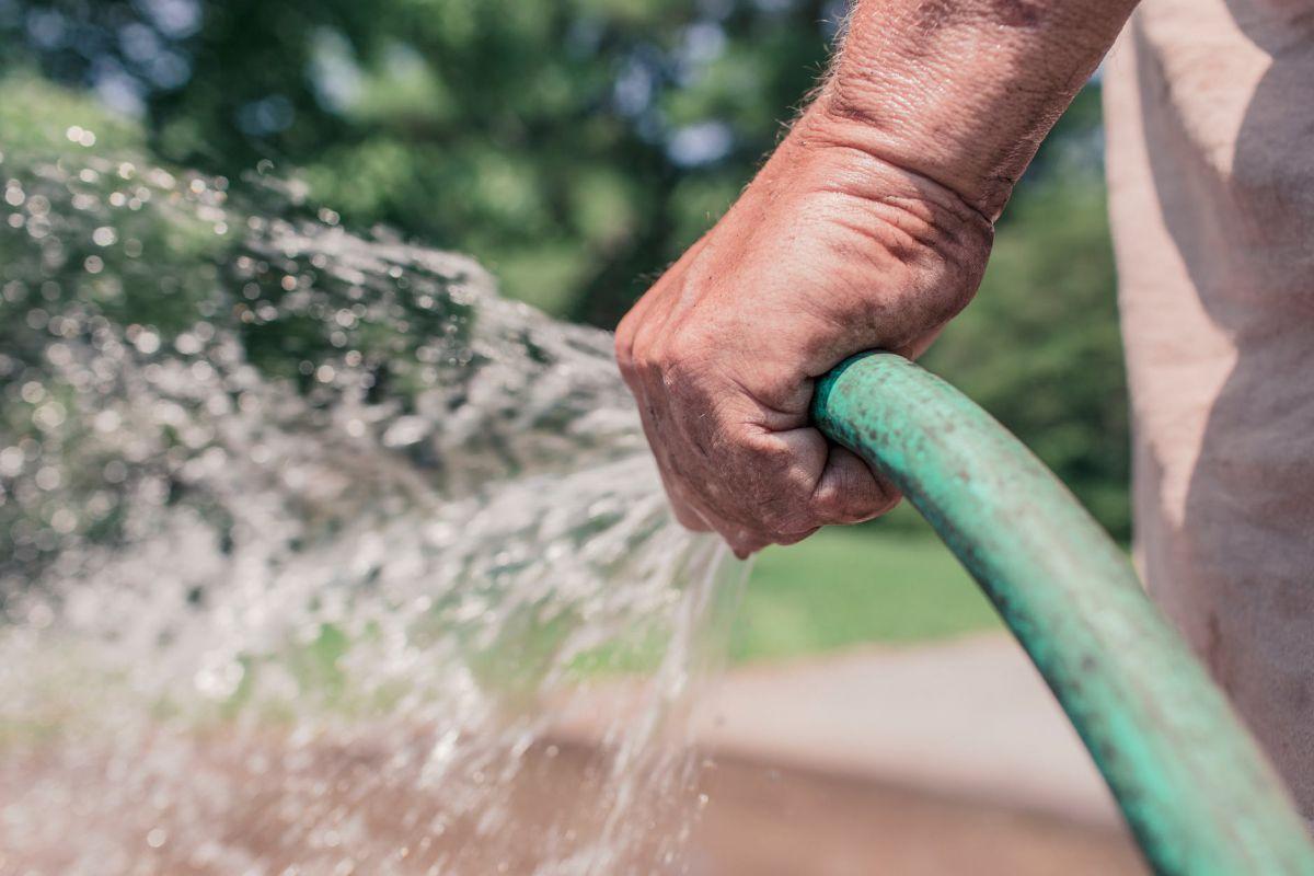 Sproeiverbod vanwege extreme droogte
