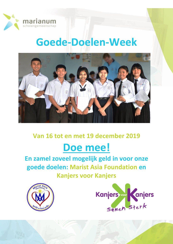 Goede-Doelen-Week bij Marianum