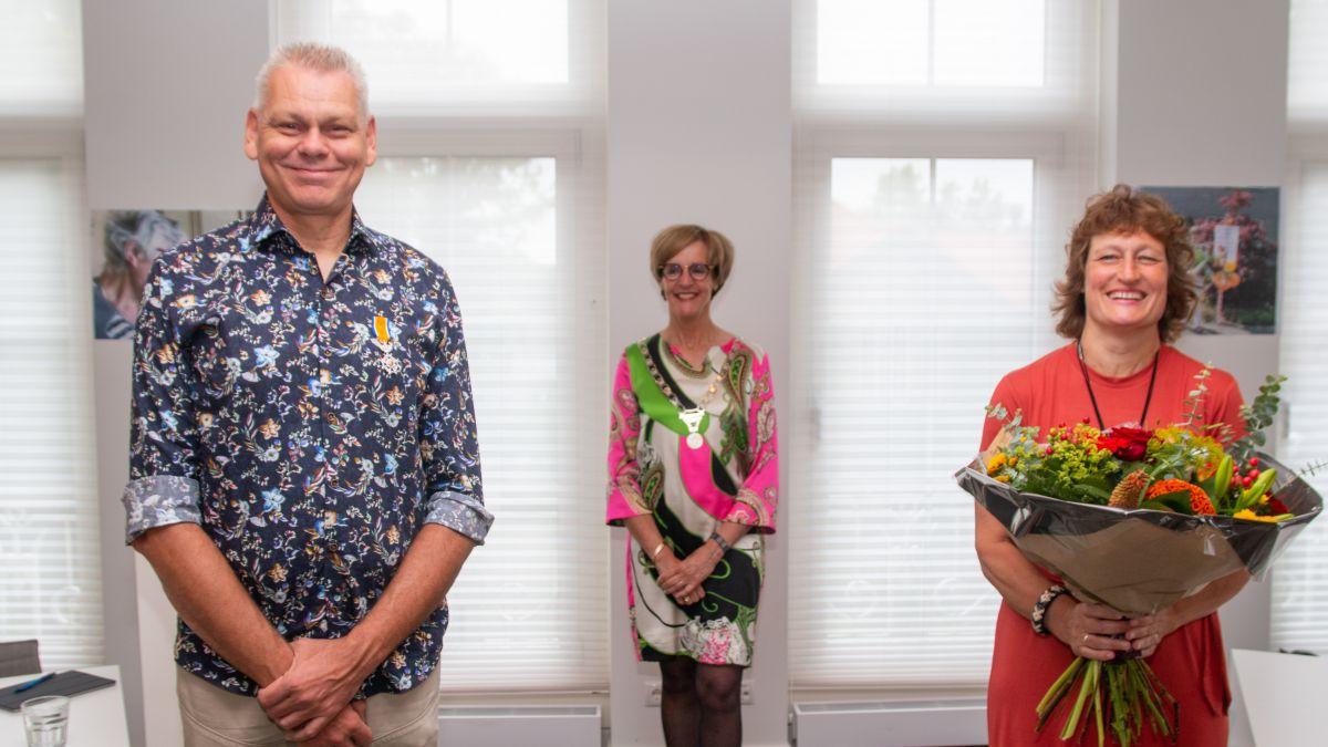 Koninklijke onderscheidingen persoonlijk uitgereikt in Oost Gelre