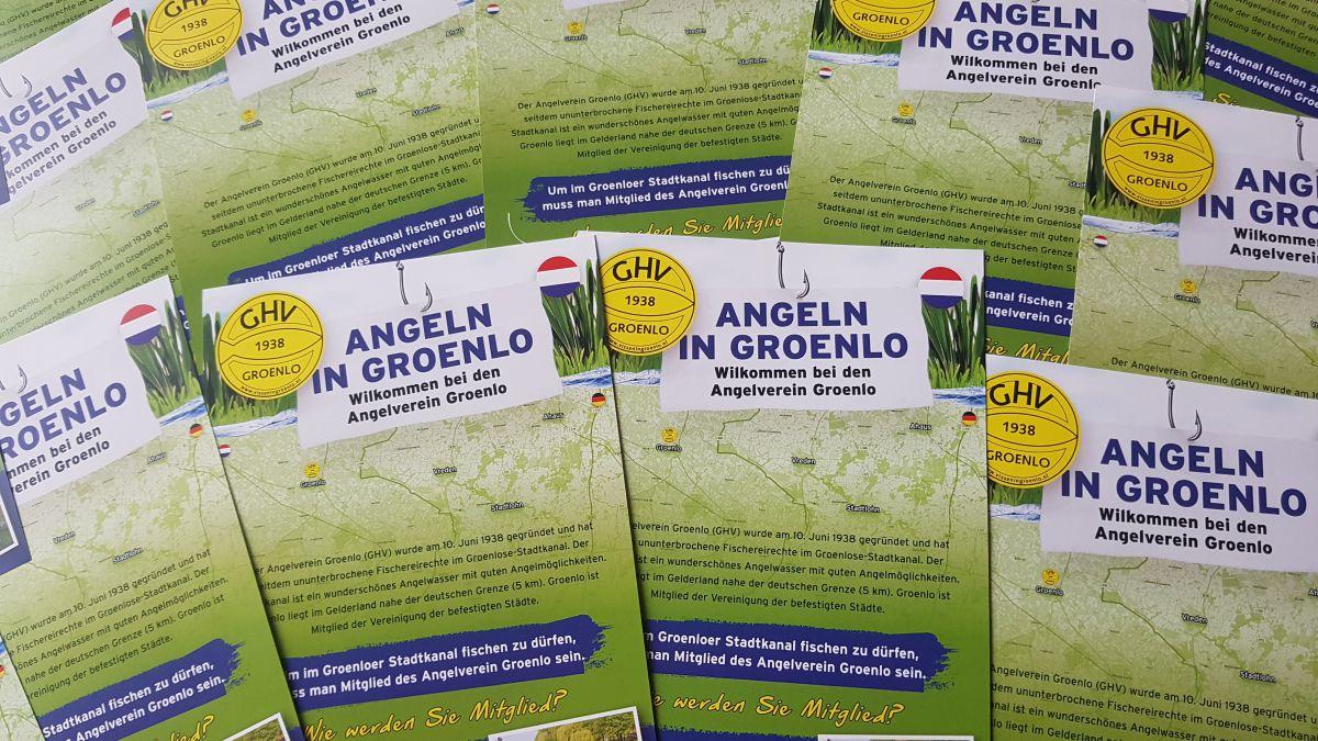 Groenlose Hengelsport Vereniging brengt Duitse flyer uit