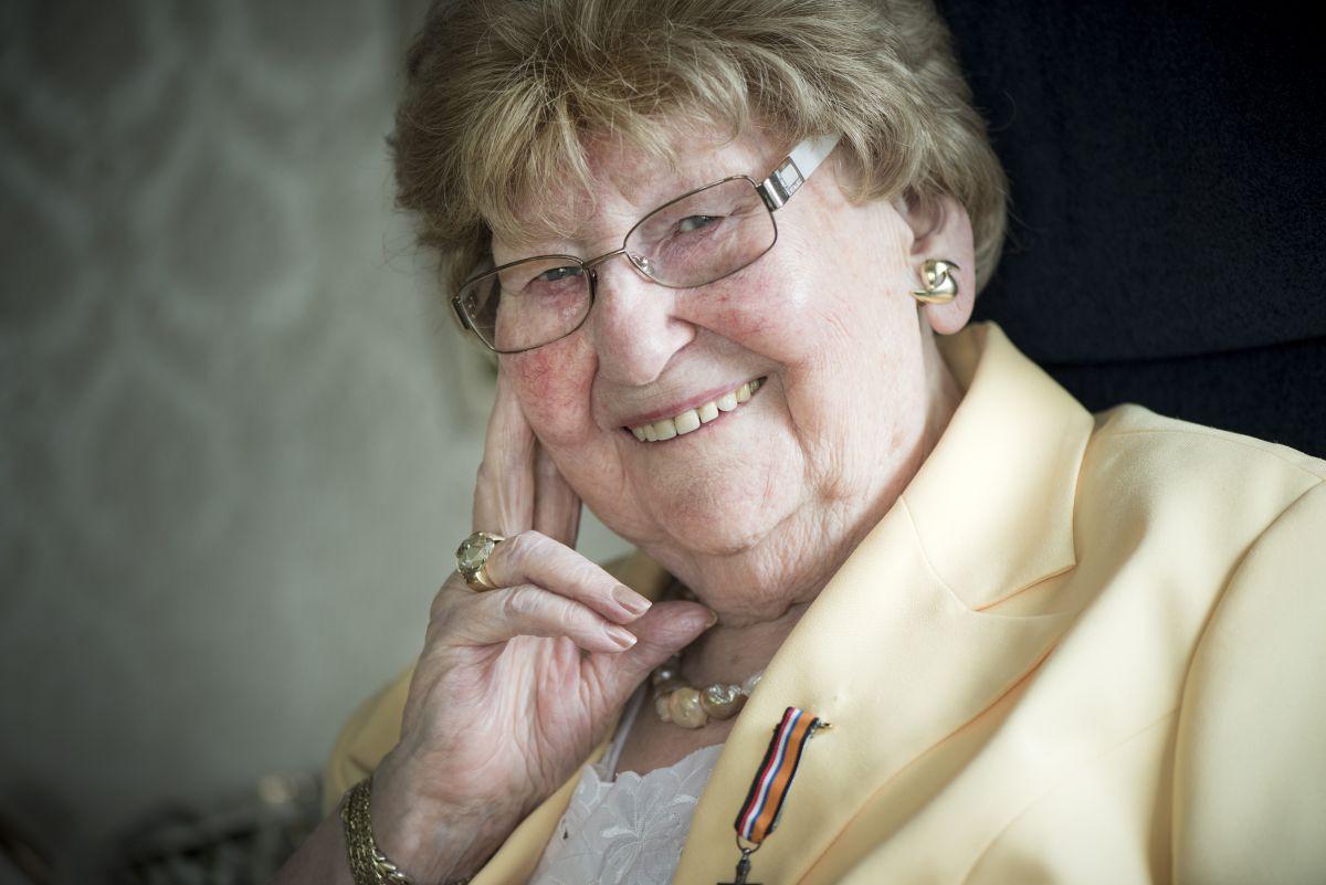 Bijzonder verzetsvrouw Mia Lelivelt overleden