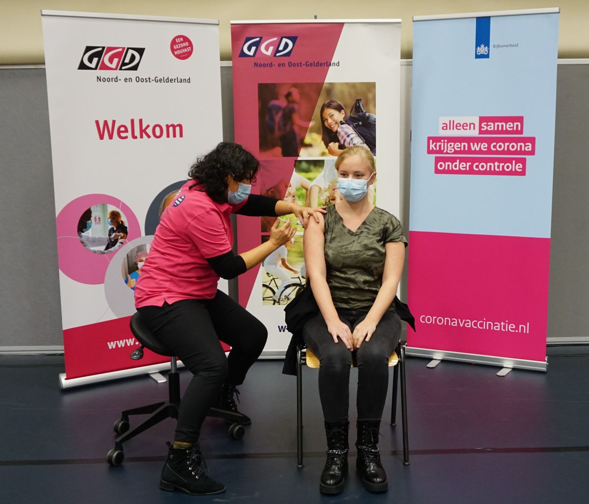GGD Noord- en Oost-Gelderland gestart met vaccineren