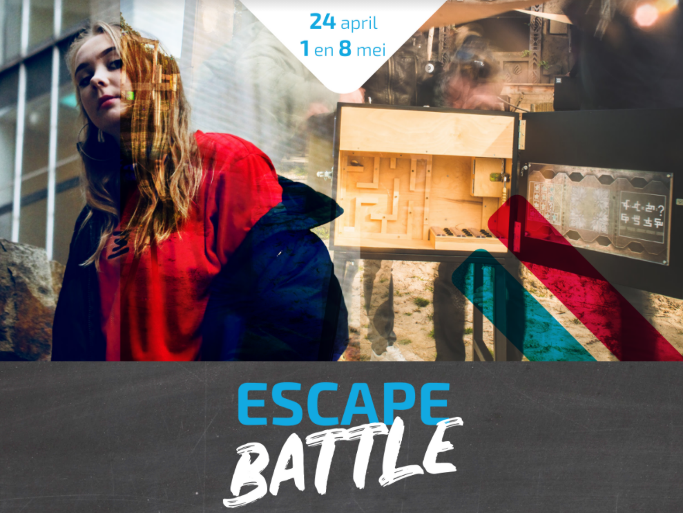 Escape-battle tussen dorpskernen