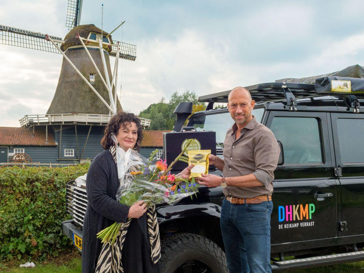 Caroline van der Plas ontvangt de Graan Cru Primeur